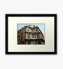 One for the Road... Framed Print