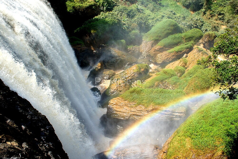 Rainbow Waterfall by PerkyBeans