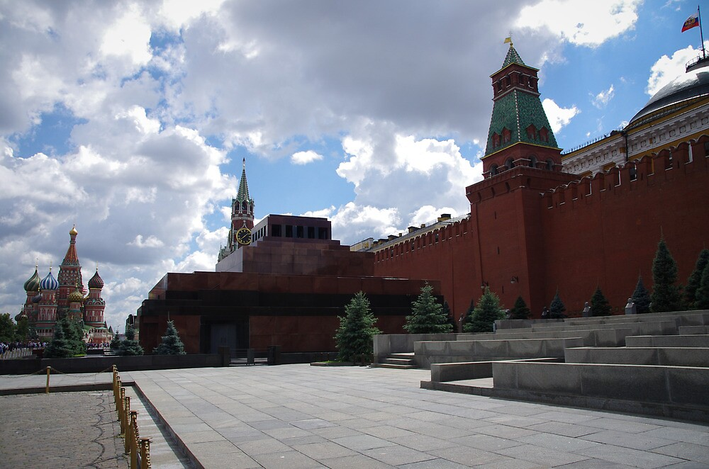 Russia, Moscow, 2012 - Red Square by day by Derek  Rogers