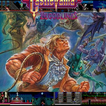 Castlevania: Bloodlines 1994 by MetroidRhyme