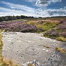 Weetwood Moor Rock Carvings by Brian Kerr