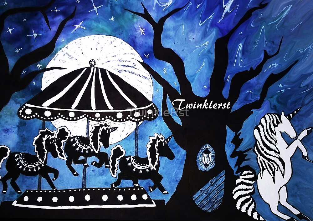The Fullmoon Brings The Fairground To Life - 2014  by TwinkleRst