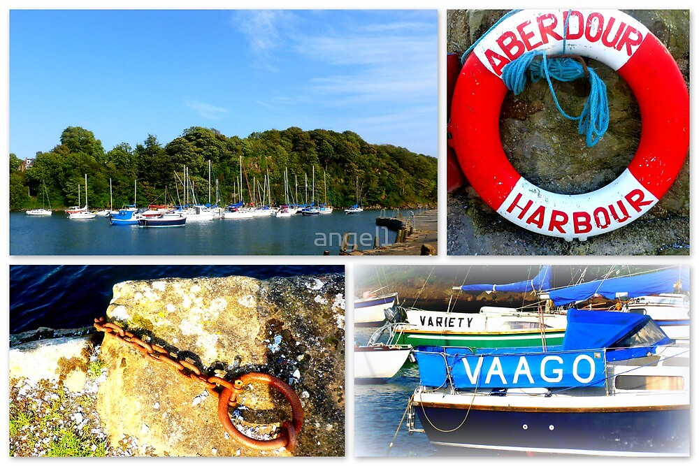 Aberdour Harbour by ©The Creative  Minds