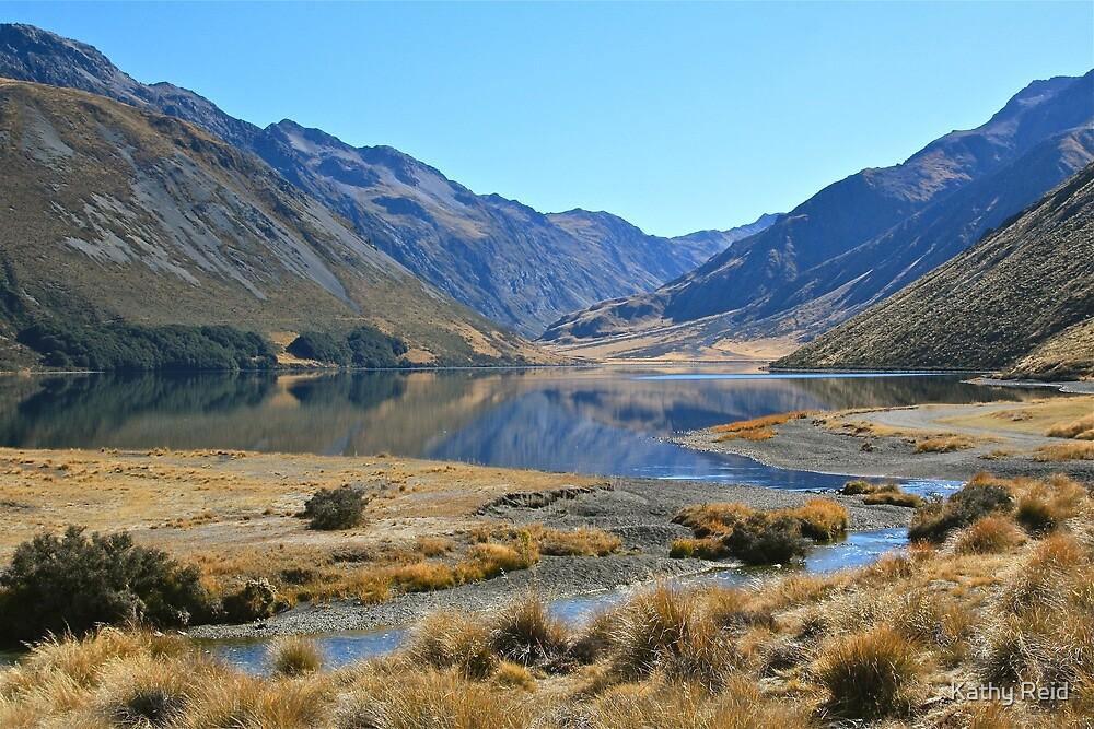 Lake Tennyson  - New Zealand by Kathy Reid