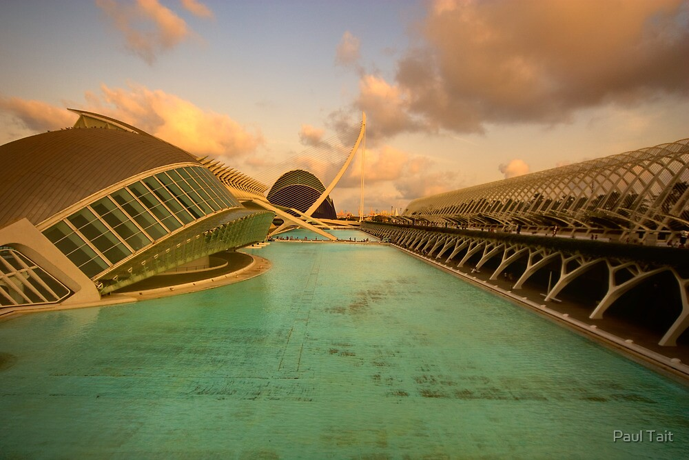 City of Arts and Sciences, Valencia by Paul Tait