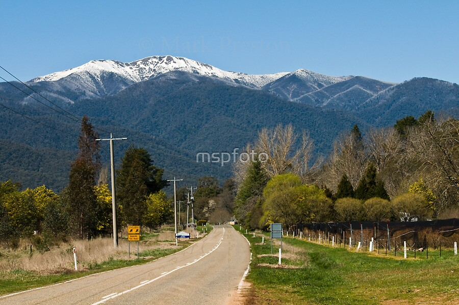 Great Alpine Road by mspfoto