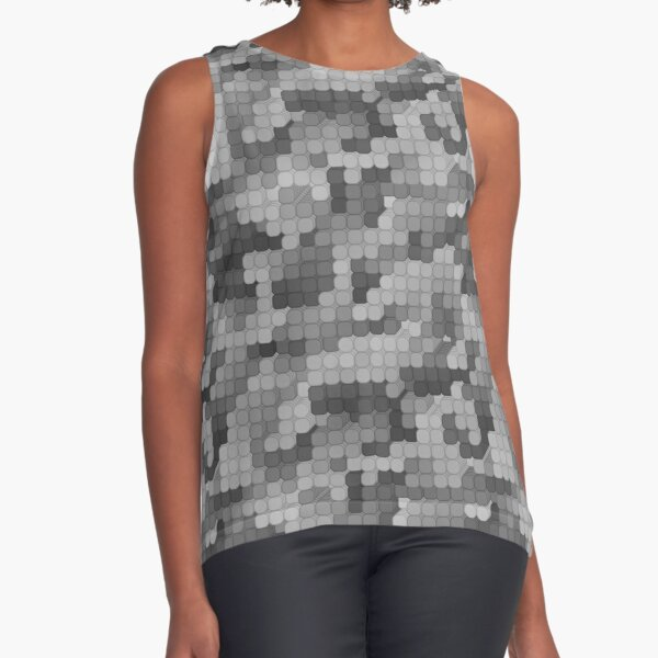 Urban Camo Sleeveless Top