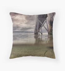 Water level  Throw Pillow