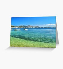 Puerto Pollensa Greeting Card