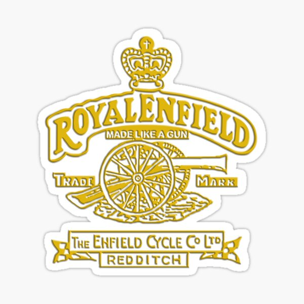 Royal Enfield Motorcycle Logo 4 Sticker