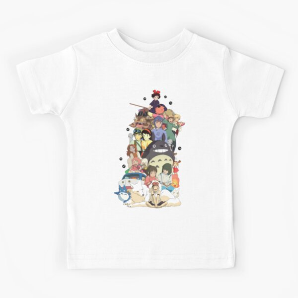 Studio Ghibli All-Stars Kids T-Shirt