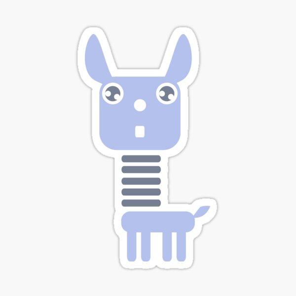 Robot Llama Sticker