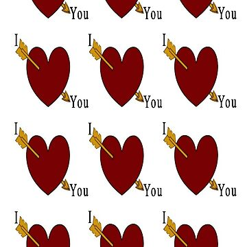 I love You - iPhone  by alsalman