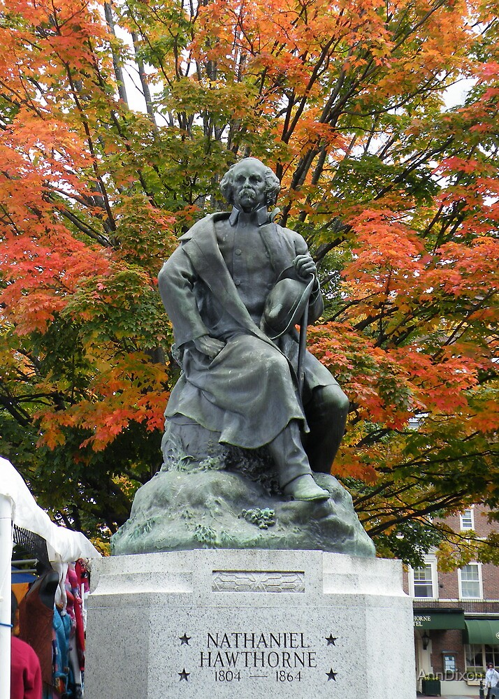 Statue in the Fall by AnnDixon