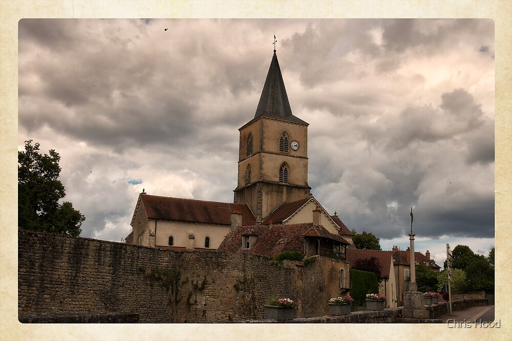 Old French Church by Chris Hood