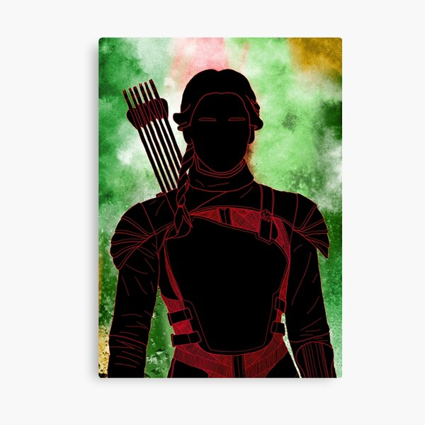 Katniss illustration Canvas Print