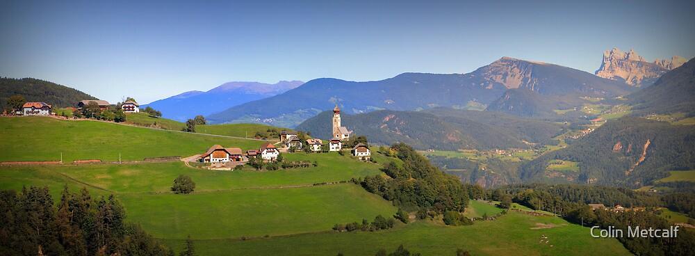 South Tyrolean Panorama above Bolzano. by tyke29