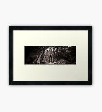Angkor Thom West Gate Framed Print