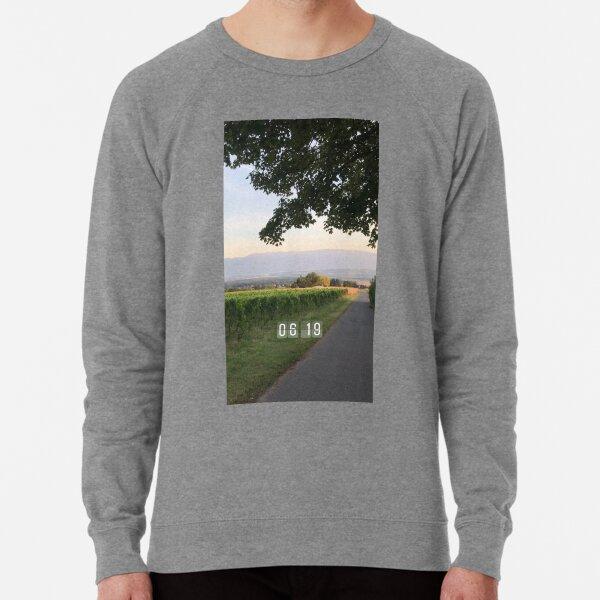 Vineyards in the morning  Lightweight Sweatshirt