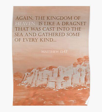 Matthews 13:47 'The Cliffs' Poster