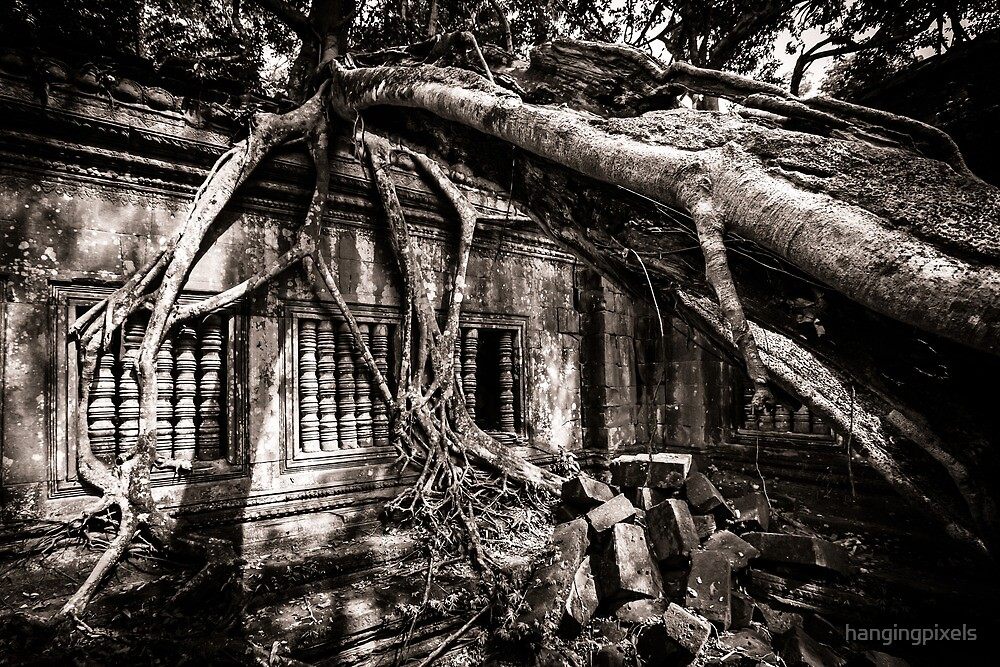 Ruin of Beng Mealea, Cambodia by hangingpixels