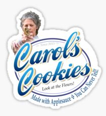 Famous Carol's Cookies Logo Sticker