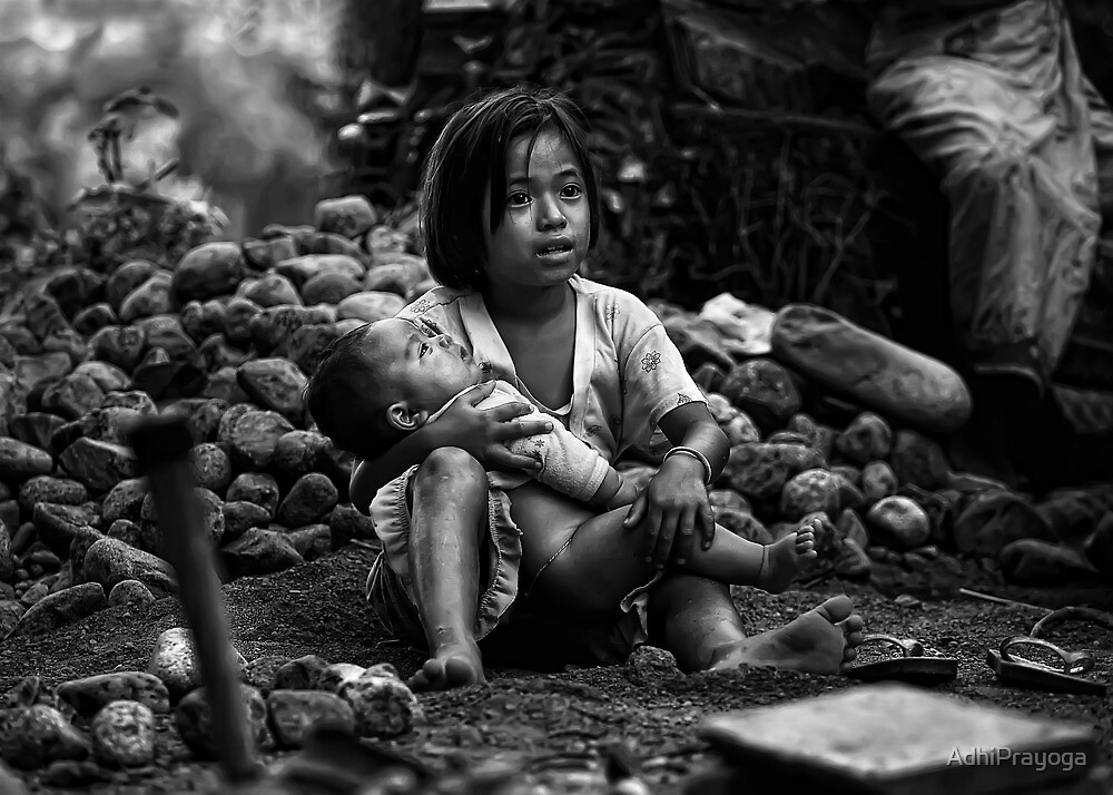 Keeping sister by AdhiPrayoga