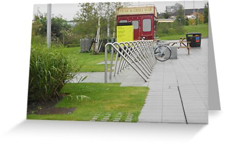 bicycle rack by Kevin McLaughlin