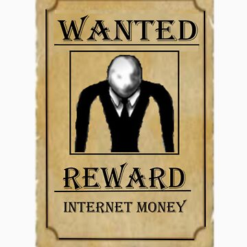 Slender-Wanted by RoboWolf