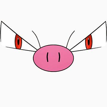 Primeape Pokemon by james0scott