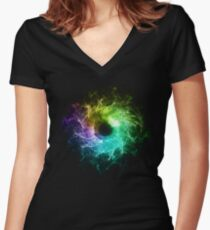 Eye Women's Fitted V-Neck T-Shirt