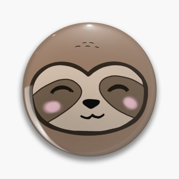 Cute Sloth Pin