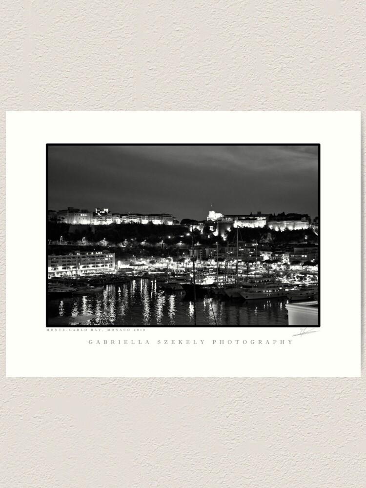 Alternate view of Monte-Carlo Bay Art Print