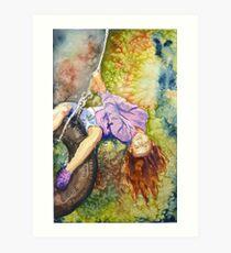 Swing into Fall Art Print