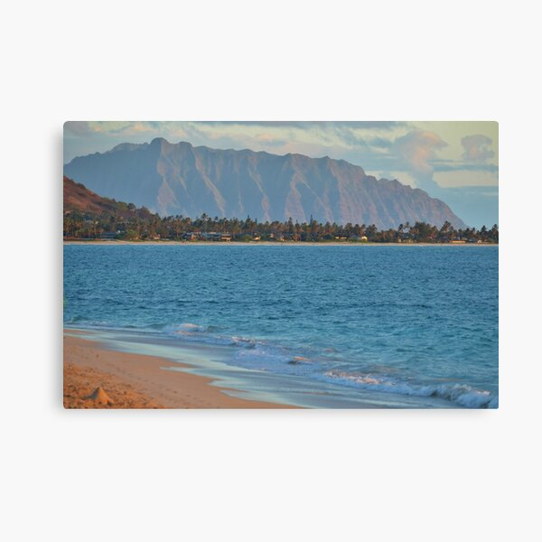 Pali and Kailua Beach Sunrise Canvas Print