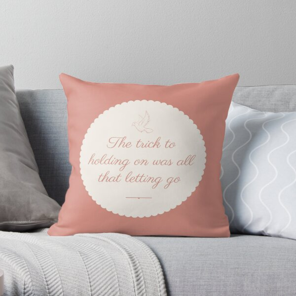 #quotes Throw Pillow