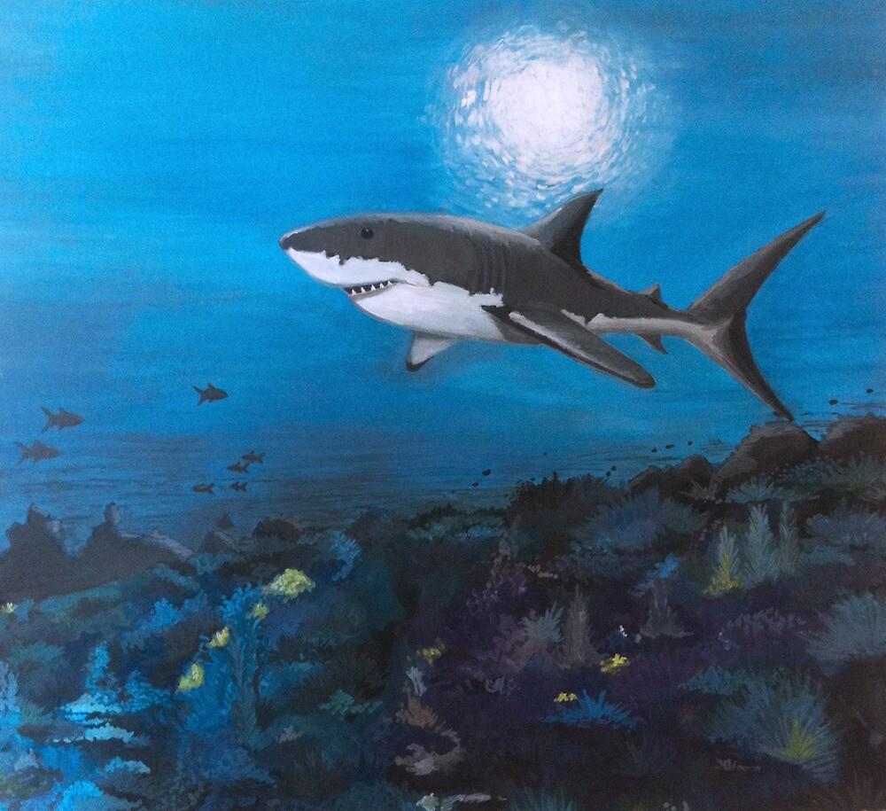 SHARK!!! by codyvandezande