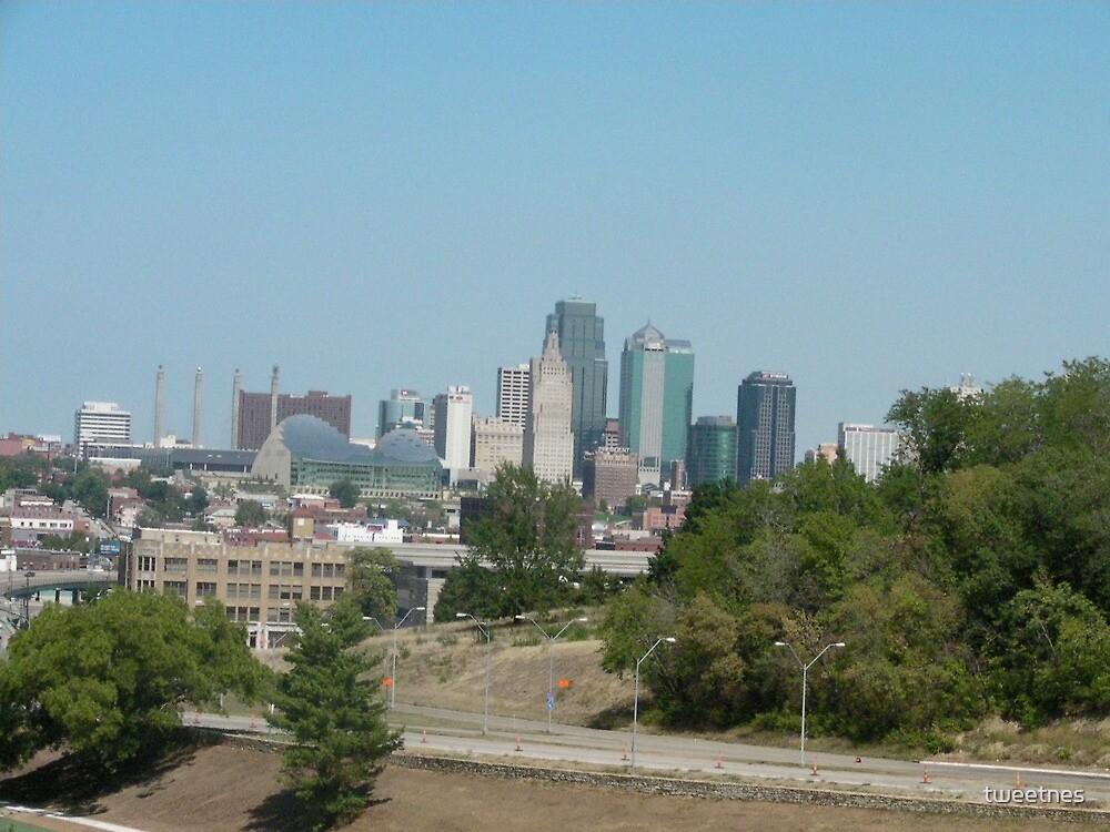Skyline of Kansas City MO by tweetnes
