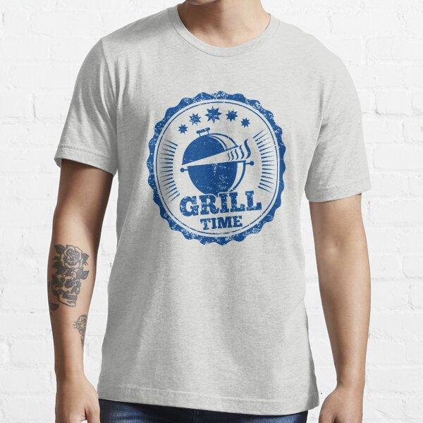 Grillen Papa Geschenk Vatertag Essential T-Shirt