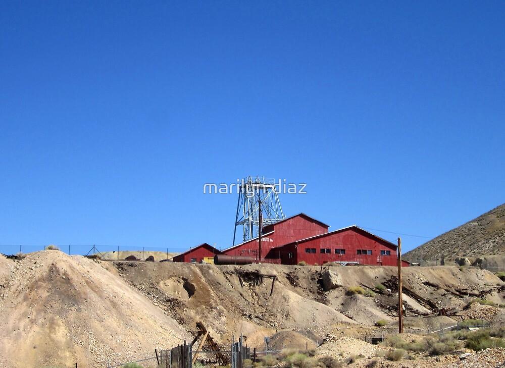 Mine Site Tonapah Nevada by marilyn diaz