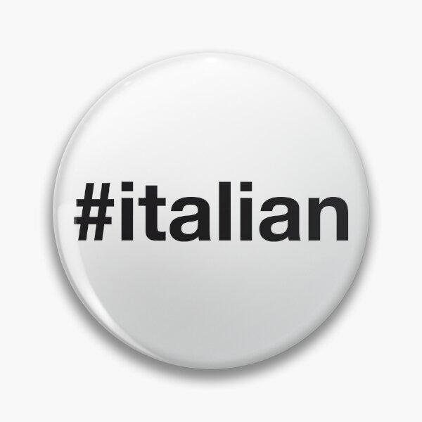 ITALIAN Hashtag Pin