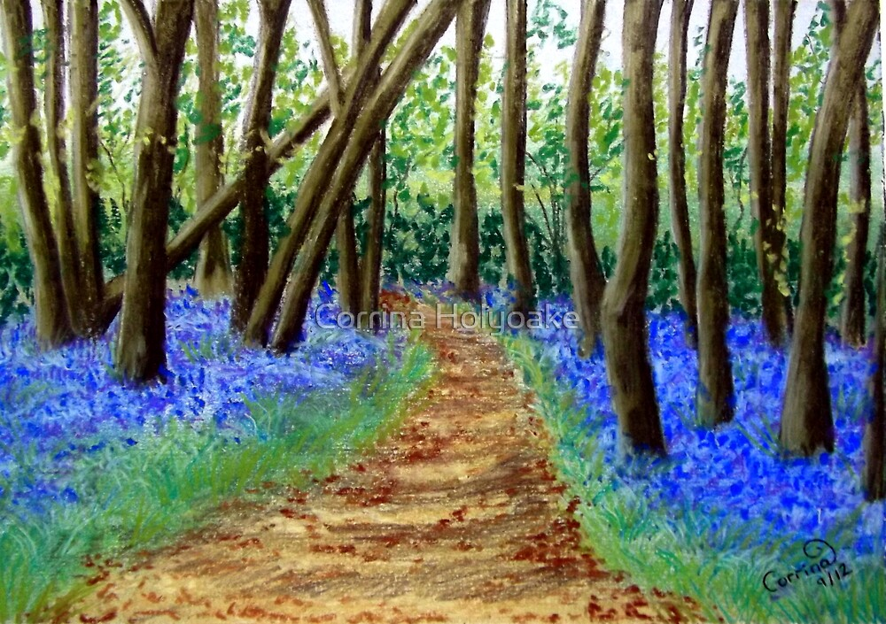 A Carpet of Blue by Corrina Holyoake