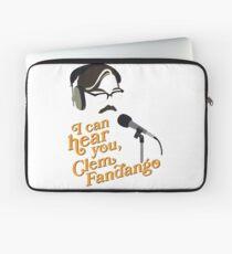 "Toast of London - ""I can hear you, Clem Fandango"" Laptop Sleeve"
