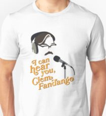 "Toast of London - ""I can hear you, Clem Fandango"" Slim Fit T-Shirt"