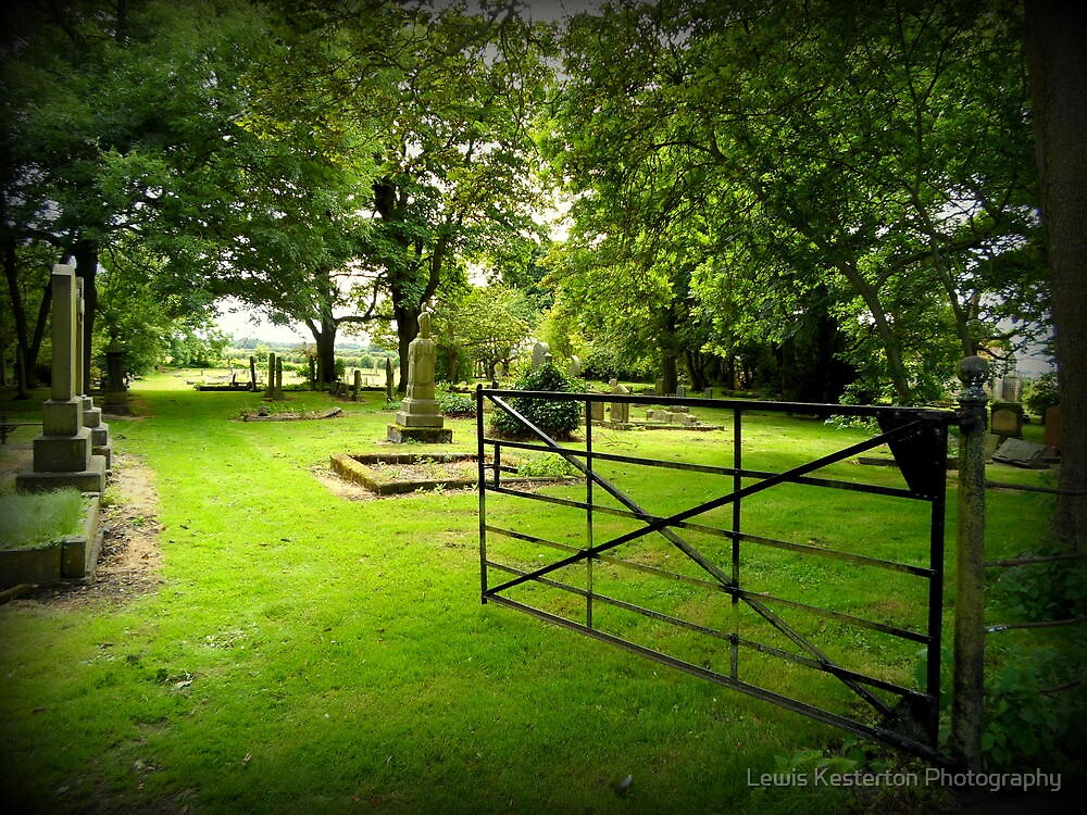 Opening the gate... by Lewis Kesterton Photography