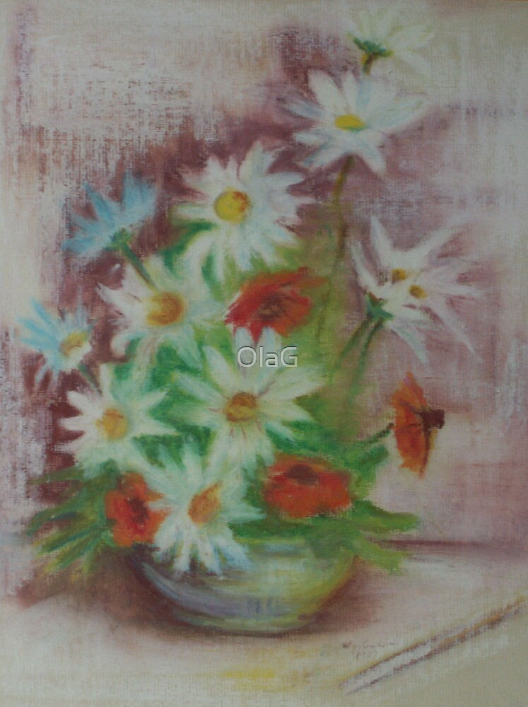 ARRANGEMENT of FLOWERS by OlaG
