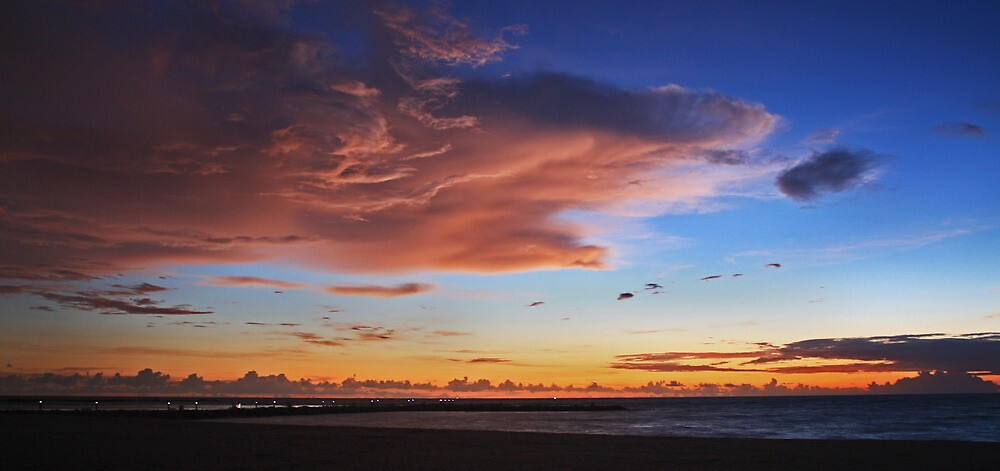 morning cloud color by cliffordc1