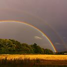 Double Rainbow 16 September 2012 Manfield, North England by Ian Alex Blease