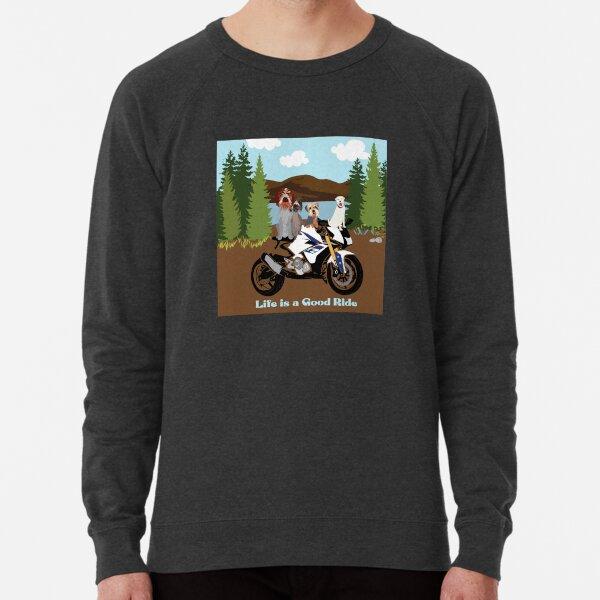 LIFE IS A GOOD RIDE Lightweight Sweatshirt