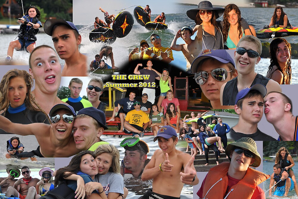 The Crew Collage by alexela